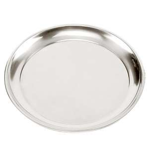 Norpro 13.5 Stainless Steel Pizza Pan NEW 028901056728