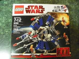 Lego Star Wars # 8086 Droid Tri Fighter Brand New In Box