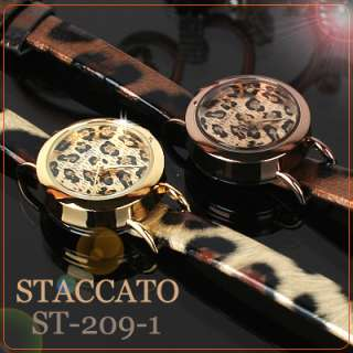 STACCATO ST 209 1]Leopard print Dress watch, Great gift for you and