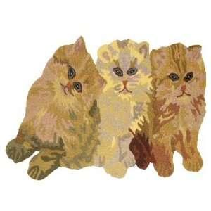 Kitty Cat Kitten home art decor woven kitchen area rug