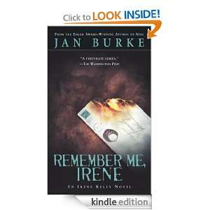 Me, Irene (Irene Kelly Mysteries) Jan Burke  Kindle Store