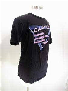 Captain EO Michael Jackson Black T Shirt Mens   Disney Epcot