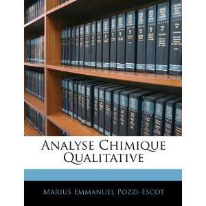 (French Edition) (9781143911330): Marius Emmanuel Pozzi Escot: Books