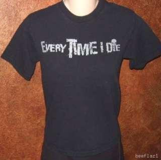 Rock Band T shirts M L Lot Boys Girls Thrice Psyopus FallOutBoy