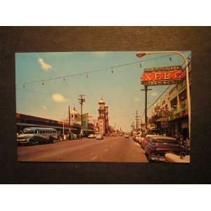 50s Chapultepec Avenue, Tijuana Mexico Postcard not applicable Books