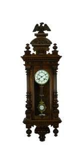 Antique German wall clock Cooperation Gustav Becker/Carl Mueller 1890