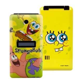 Sponge Bob Mobile Phone Cell Phone DUAL BANDS DUAL SIMS Patrick Star