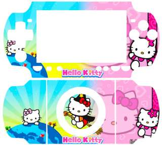 Hello Kitty CAT SKIN VINYL STICKER for PSP 2000 SLIM #1