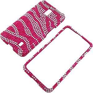 Spectrum VS920, Hot Pink Zebra Full Diamond: Cell Phones & Accessories
