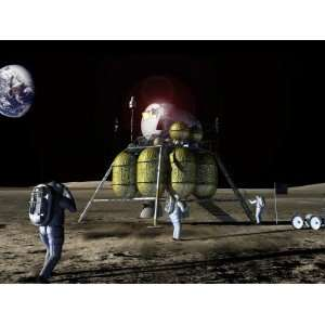com New Spaceship to the Moon, Four Astronauts Could Land on the Moon