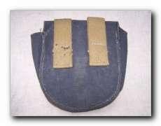 WW2 Soviet Red Army PPSch 41 grey canvas ammo pouch.