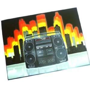 Sound Activated T Shirt Panel   Boombox: Toys & Games