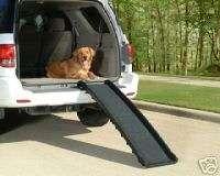 Solvit Ultralite Folding PORTABLE Dog Pet Ramp 62332
