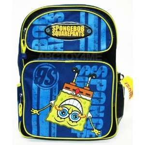 Spongebob Squarepants Upsidedown Large Backpack with Water