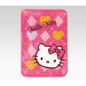 Hello Kitty Blanket Argyle