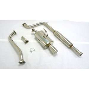 Catback Exhaust 97 03 Saturn SL1 1.9L 2/4DR SOHC/DOHC ALL: Automotive