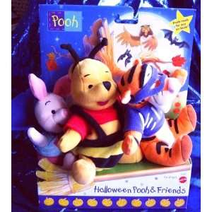 the Pooh, Tigger & Piglet all in Halloween Costumes) Toys & Games