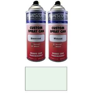 12.5 Oz. Spray Can of Snow White Pearl Metallic Tricoat Touch Up Paint