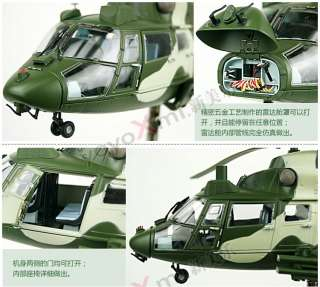 China Air Force Metal Z9 A Armed Helicopter 1/30