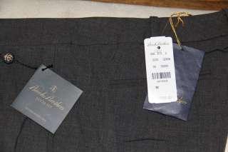 NW Brooks Brohers Dress Pans   Gray Lucia Fi   Wool Srech ($168