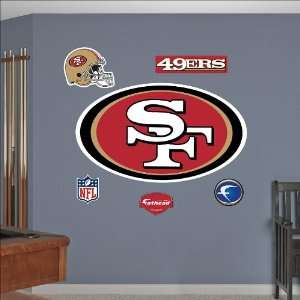 San Francisco 49ers Logo Fathead: Toys & Games