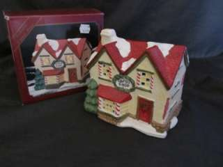 Village Collection Candy Shop Lighted Village House In Box