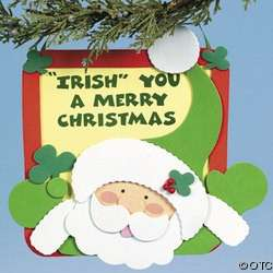 Irish You A Merry Christmas Fun Foam Craft Kit |