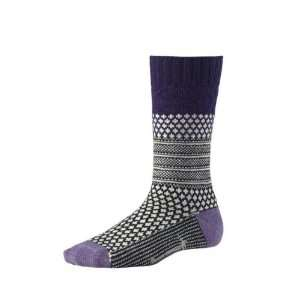 Smartwool Womens Popcorn Cable Sock (Imperial Purple) M
