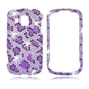Transform Ultra   Sprint, Boost Mobile     Purple Black Leopard Phone