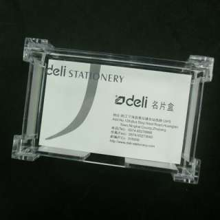 New Clear plastic Business Card Holder Display Stands