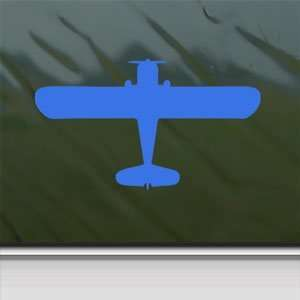 Chief Private Plane Blue Decal Car Blue Sticker Arts, Crafts & Sewing