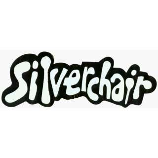 Silverchair   Black & White Logo   Large Jumbo Vinyl Sticker / Decal