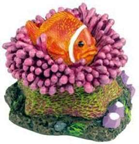Clown Fish Aquarium Ornament Tank pet nemo FREE GIFTS