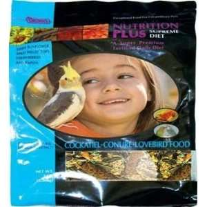Supreme Cockatiel Lovebird & Conure Bird Food 6 3 lb Bag: Pet Supplies
