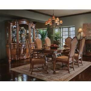 Pulaski Casa Cristina Leg Formal Dining Table in Espresso