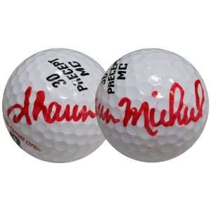 Shawn Michaels Autographed/Hand Signed Golf Ball Sports