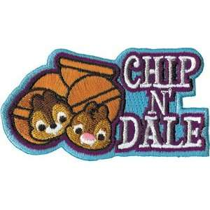 Disney Cuties Chip & Dale W/ Logo iron on Patch: Everything Else