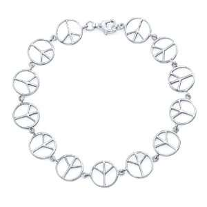 The Seventeen Magazine Jewelry Collection  Silver Peace