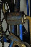 Vintage 1957 3 spd Schwinn Corvette blue middleweight bicycle bike