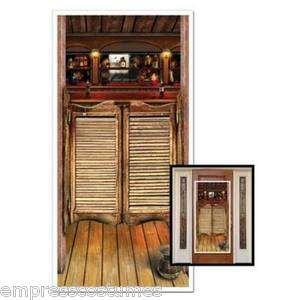Saloon Door Western Scene Setter Prop Party Decorations
