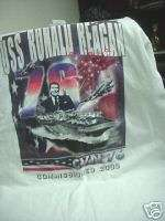 US U.S. Navy USS Ronald Reagan CVN 76 t shirt small