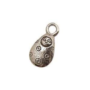 Green Girl Pewter Courage Doll 15x28mm Charms Arts