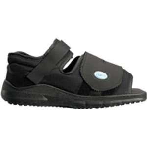 Darco Medical Surgical Square Toe Shoe Black Womens Medium