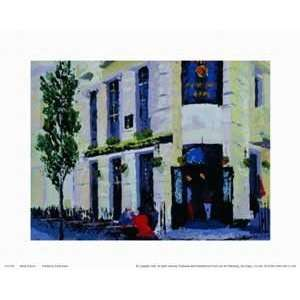 Poster Print   Street Scenes   Artist David Dean  Poster Size 8 X 10