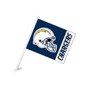 San Diego Chargers NFL Car Flag
