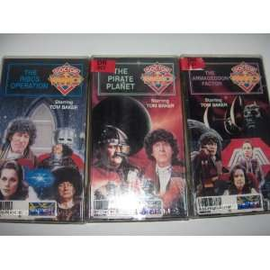 Factor/The Pirate Planet/The Ribos Operation   Starring Tom Baker