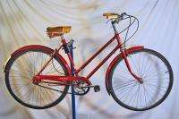 Robin Hood 3 speed Ladies Tourist bicycle bike Ruby red Sturmey Archer