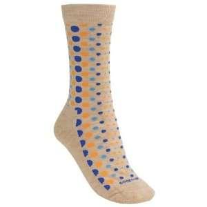Goodhew Lifestyle Polka Dot Socks   Merino Wool, Crew (For