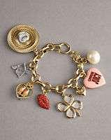 100%auth Juicy Couture Romantica Charm Bracelet