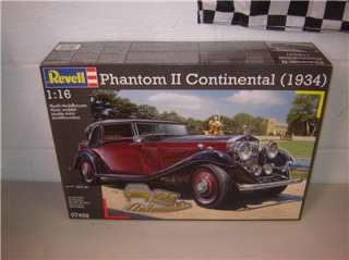 RMG 1934 ROLLS ROYCE 116 Scale Revell of Germany Model Kit 1/16 Scale